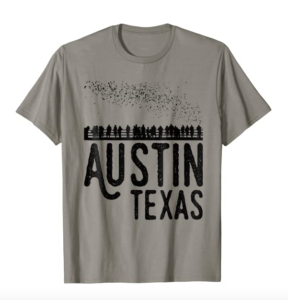 Austin Texas Bats South Congress Shirt