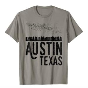 Austin Texas Bats South Congress Shirt
