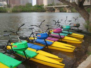 Austin Water Bike Rentals Near Congress Avenue Bridge