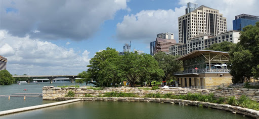 Alta's Cafe at Waller Creek Boathouse in Austin, Texas